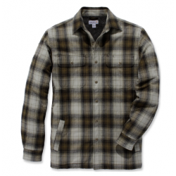 Hubbard sherpa shirt military Olive