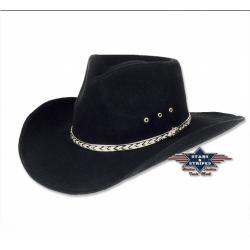 Cowboyhoed Kansas black