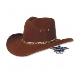 Cowboyhoed Kansas brown