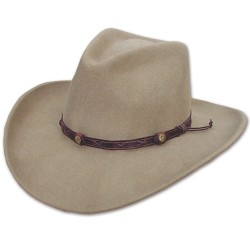Cowboyhoed Eastwood sand