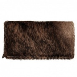 Trinity ranch cowhide wallet coffee