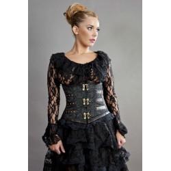 Victorian underbust black...