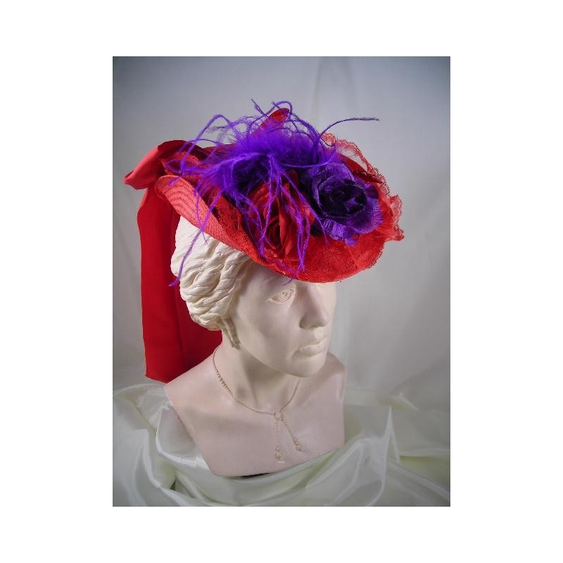Small French Hat Purple