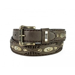Mayura Belt in Vacuno Brown