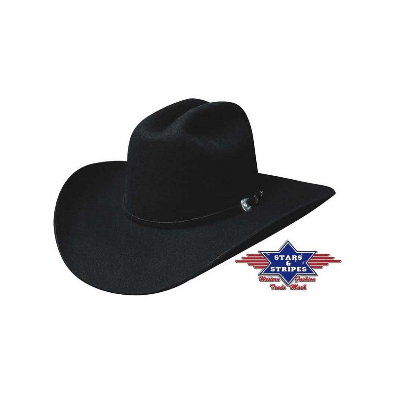 Cowboyhoed Appaloosa black