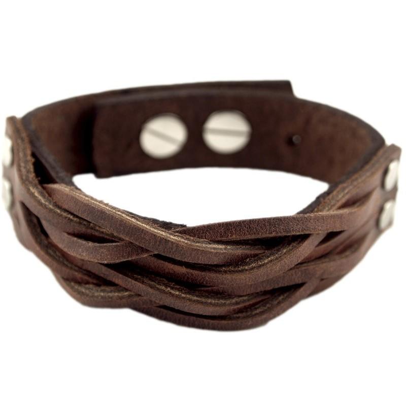 Barcelona armband bruin
