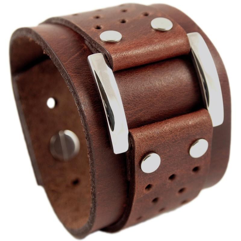 Vegas armband bruin