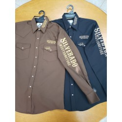 Silverado logo shirt Brown