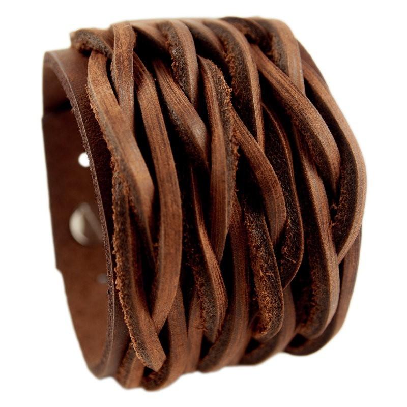 Wichita armband bruin