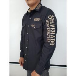 Silverado logo shirt Black