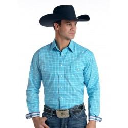 Mens westernshirt R0F6901