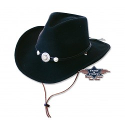 Cowboyhoed Idaho black