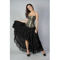 Amelia Burlesque black skirt
