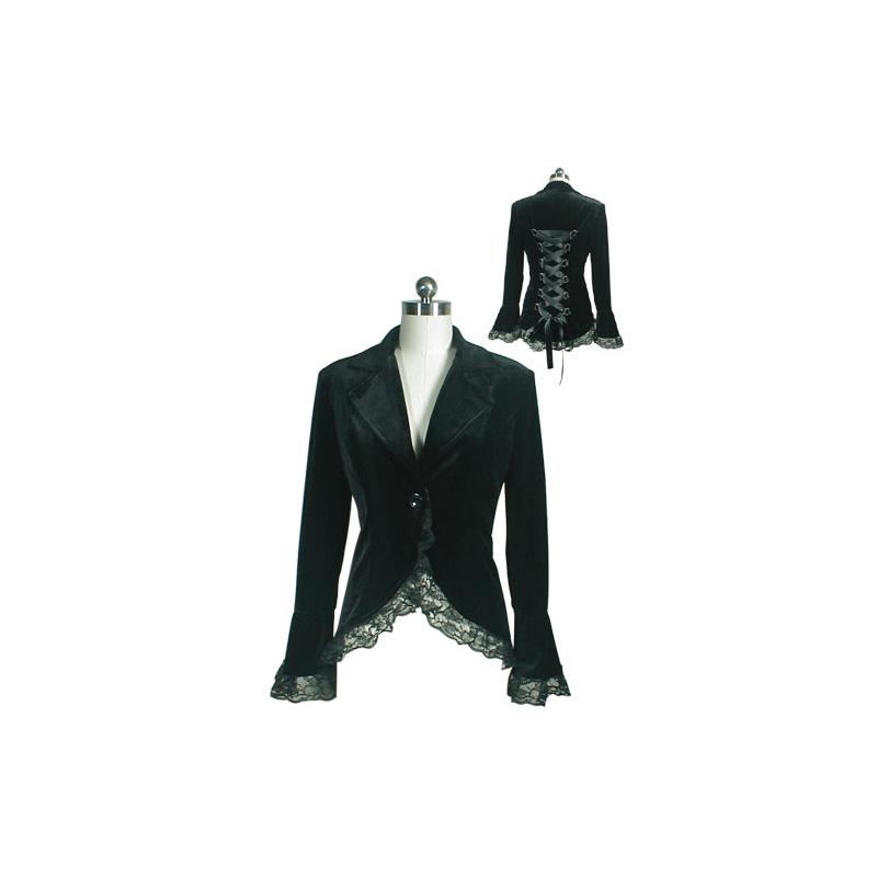 Black Victorian Jacket