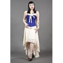Elizium long Crème skirt