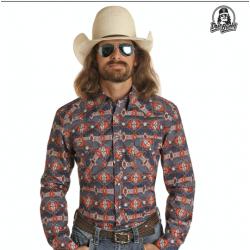 Mens western shirt B2S8104