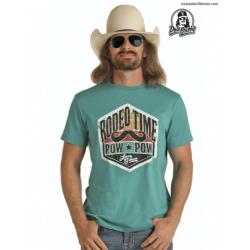Mens western T shirt P9-7413