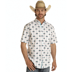 Mens western shirt Buffalo...