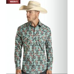 Mens western shirt B2S8093