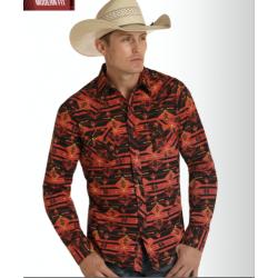 Mens western shirt B2S8105
