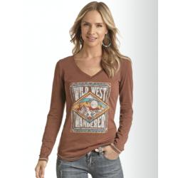 Ladies LS  t Shirt L8T7201