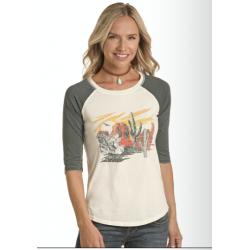 Ladies LS  t Shirt L9T8553