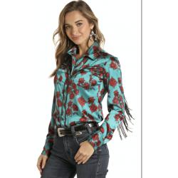 Dames western shirt met...