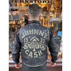American legend Leather gilet