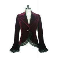 Burgundy Victorian Jacket