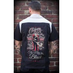 The Man in Black shirt