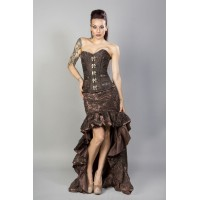 Helena skirt brown